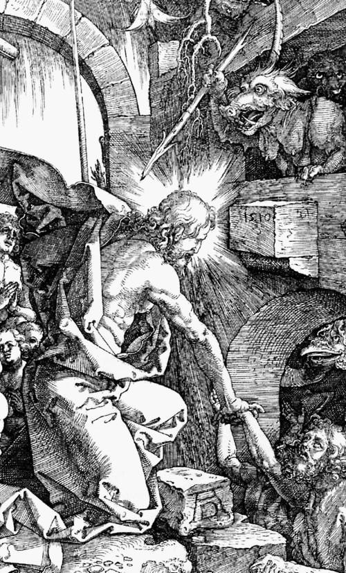 Dürer Christ aux limbes détail_arts_et_cloitre